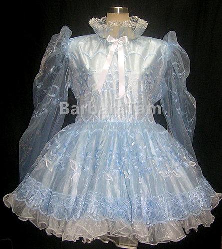STK 05 BBT Adult Sissy Embo. Girl Dress