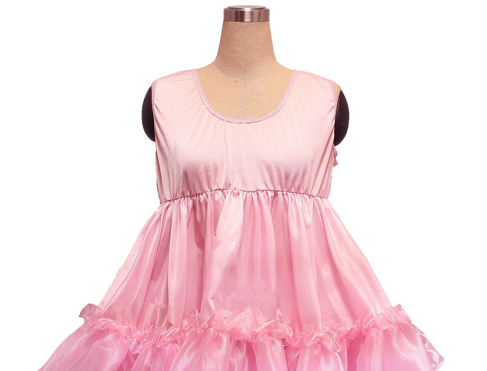 Adult Sissy Baby Frilly Ruffles Petticoat (P)