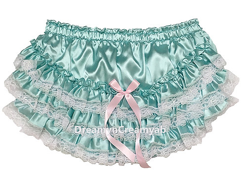 ADULT BABY Shimmering Satin Panties