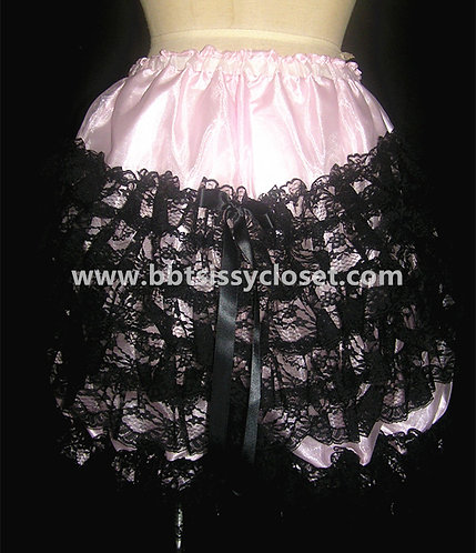 PT12 BBT Adult Sissy Gothic Ruffles Bloomers