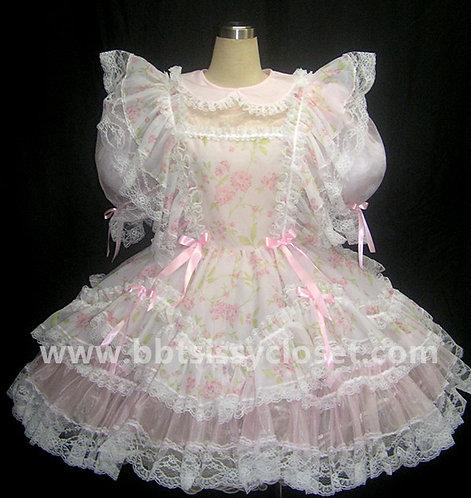 STR10 ADULT SISSY SUMMER ORGANZA GIRL DRESS