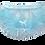 Thumbnail: D & C Adult Baby Sky Blue Mirror Ruffles Dress