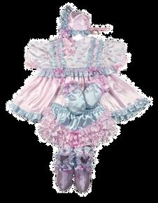 Ruffles Satin Dress