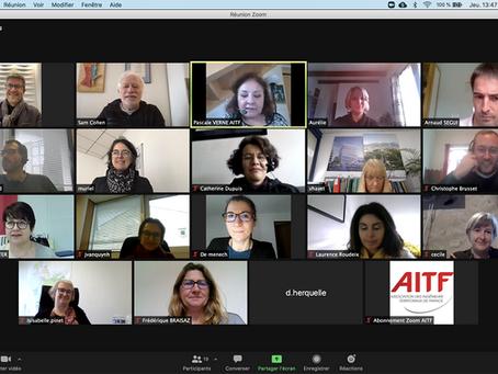 L'AITF en direct avec ses adhérents!