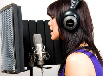 Microfones e captação do som nos estúdios