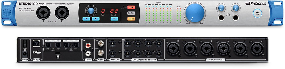 Interface PreSonus STUDIO 192