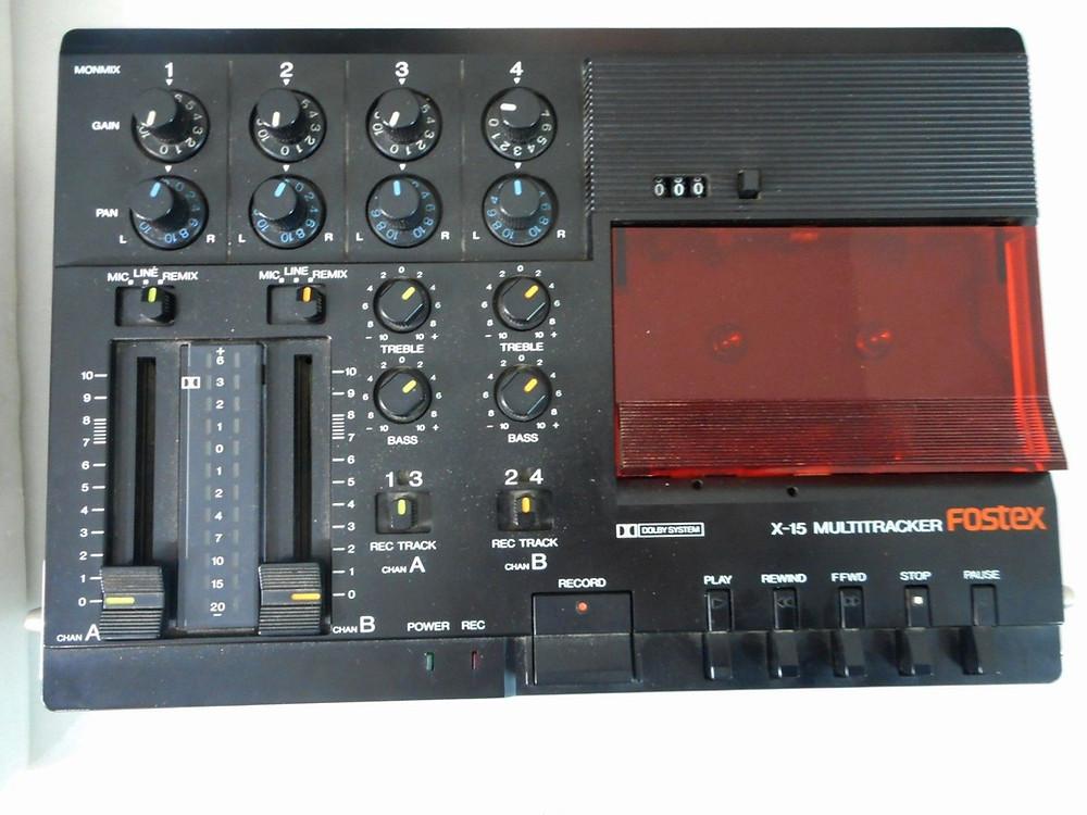 Gravador Fostex X-15
