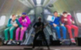 EL GRUPO DE MUSICA OK GO_PRODUCTORA AUDIOVISUAL BARCELONA CONTENIDO FOTOGRAFÍA DE EVENTOS MOBILE WORLD CONGREES BARCELONA