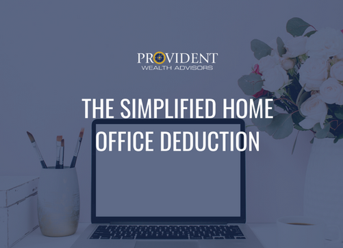 The Simplified Home Office Deduction