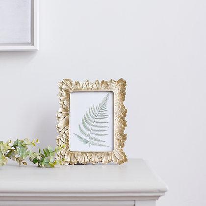Gold Leaf Photo Frame