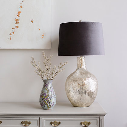 Harmony Lamp in Gold Leaf