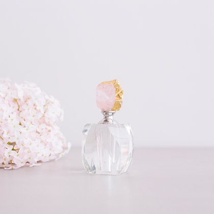 Pink Agate Perfume Bottle