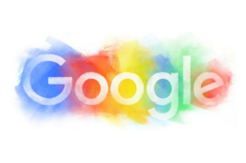 Google's Flamboyant and Colourful Logo