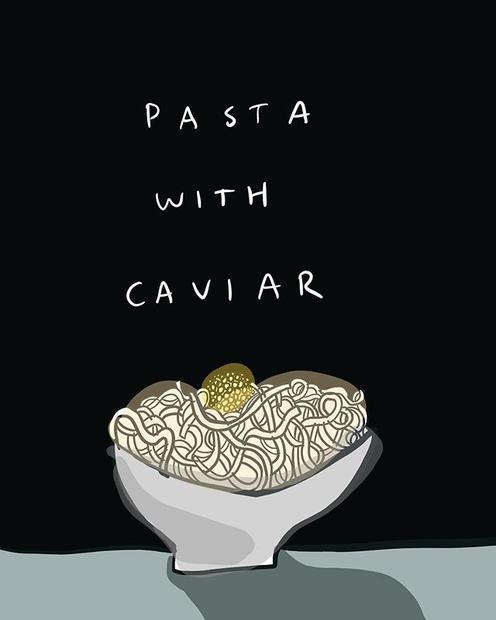 From my grandmother's recipe box. Pasta