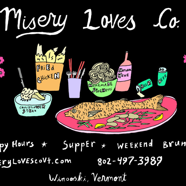 Misery Loves Co Seven Days Ad