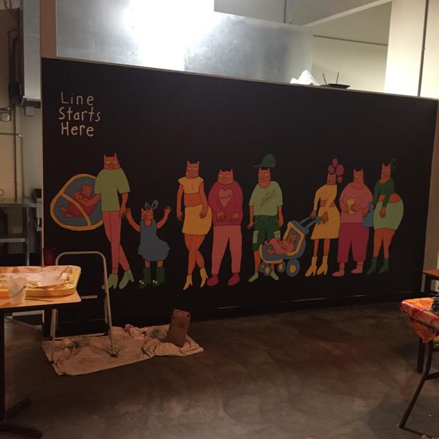 Taco Gordo Mural