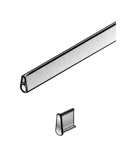 Barre de charge aluminium naturel