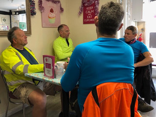 A headwind to ride Dunmow