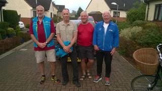 Lands End to John O Groats (LEJOG) challenge ride