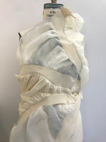 Gathered Top Drape