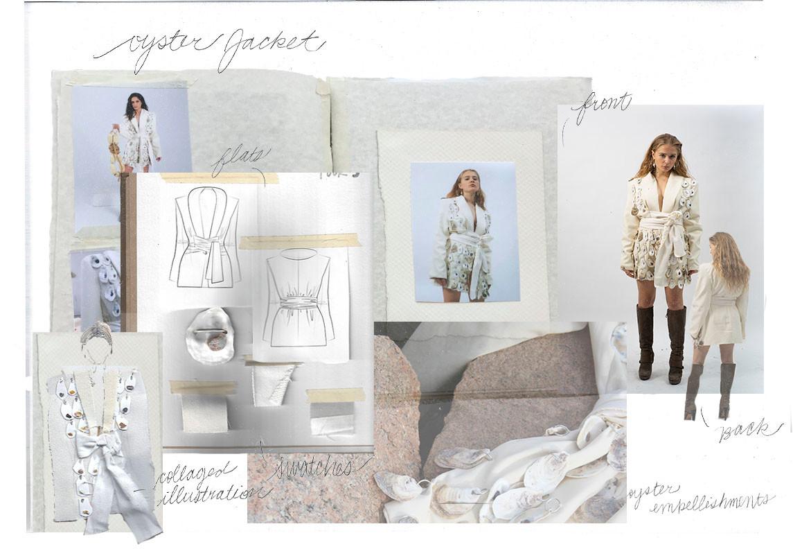 Oyster Jacket Portfolio Page