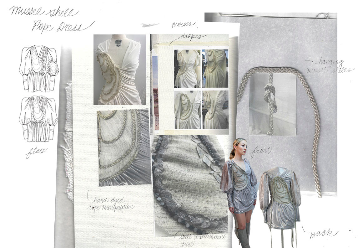 Mussel Shell Rope Dress Portfolio Page