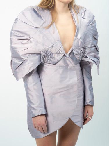 Nautilus Shoulders Dress