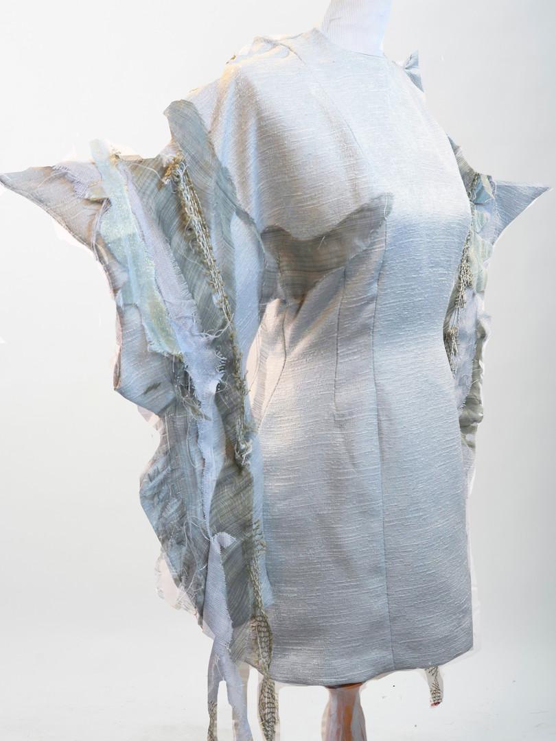Whelk Shell Sleeve Dress