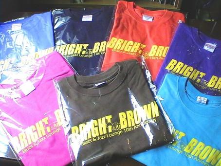 20周年記念Tシャツの受注生産します!!
