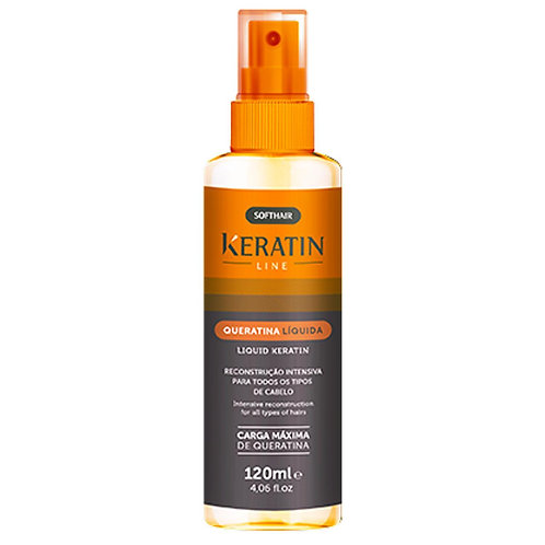 Keratin line queratina liquida soft hair - 120ml