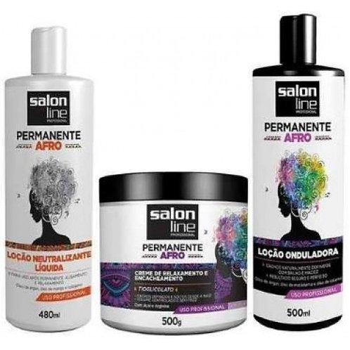 Kit Permanente Afro Salon