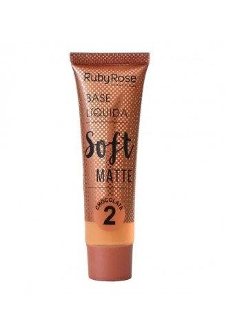 Base Líquida Soft Matte Chocolate 2 - Ruby Rose