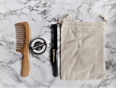 Beard Balm and Beard Brushes