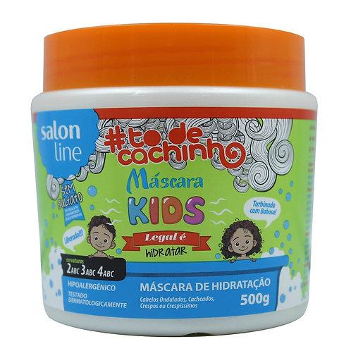 Máscara Hidratante Salon Line Kids #to de Cachinho 500g