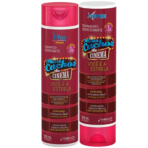 Shampoo e cond kit cinema novex