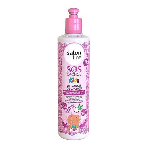 Salon Line – ativador de cachos Kids 300 ml