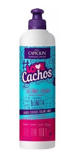 Gel Capicilin Líquido Love Cachos 300ml