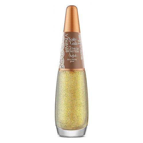 Impala Esmalte Glitter Noite De Gala Gold Royal 7.5ml