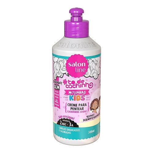 Salon Line Creme Para Pentear Molinhas Kids 300ml