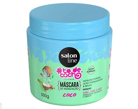 Máscara De Nutrição #Todecacho Coco Salon Line 500g