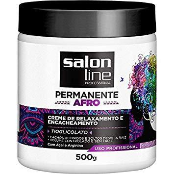 Permanente Afro kit Salon Line