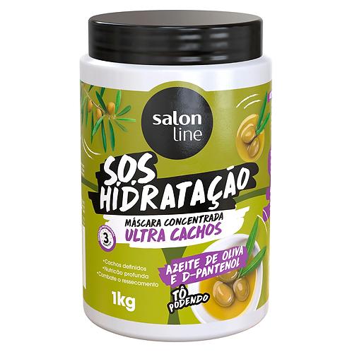Máscara S.O.S Hidratação Ultra Cachos Salon Line 1kg
