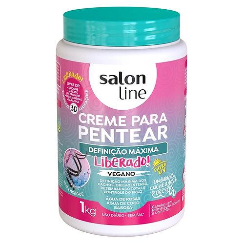 Salon Line Definição Máxima Liberado Creme de Pentear 1Kg