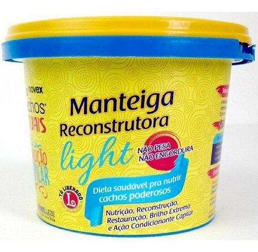 Manteiga  light reconstrutora novex