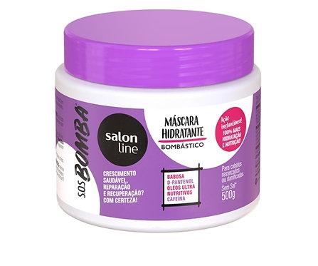 Salon Line S.O.S Bomba - Máscara Hidratante Bombástico 500g