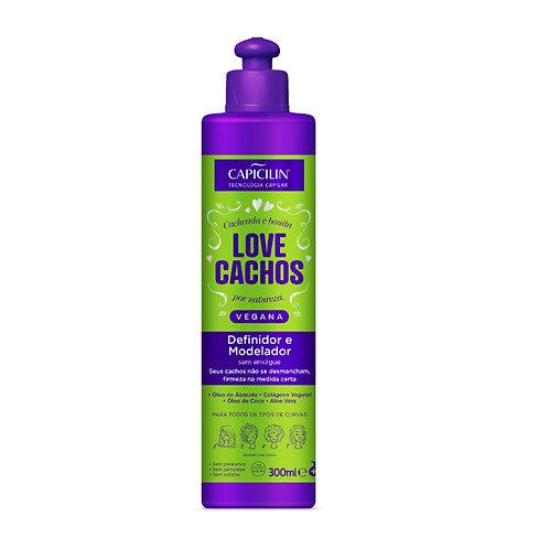 Definidor E Modelador 300ml Love Cachos Vegana - Capicilin