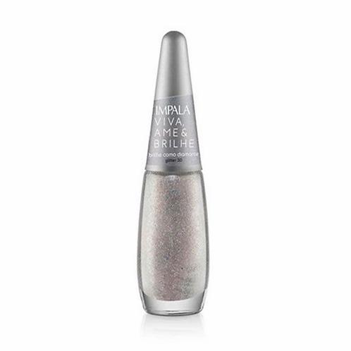 Esmalte Impala Viva, Ame e Brilhe & Brilhe Como Diamante - 7.5ml