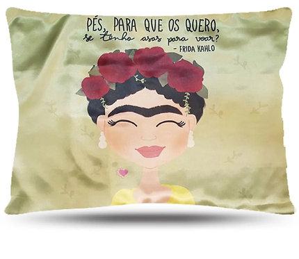 Fronha de Cetim - Frida Kahlo - Anti Frizz