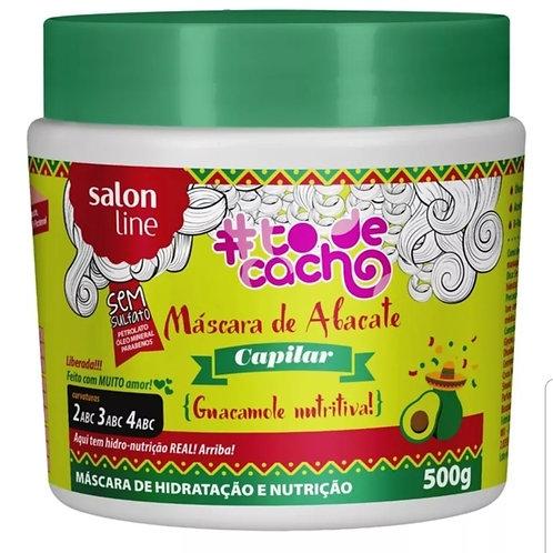 vendidos  Salon Line Mascara De Abacate Guacamole Nutritiva 500g