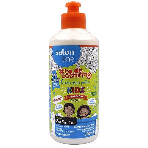 Creme de Pentear Salon Line Kids #to de Cachinhos 300ml